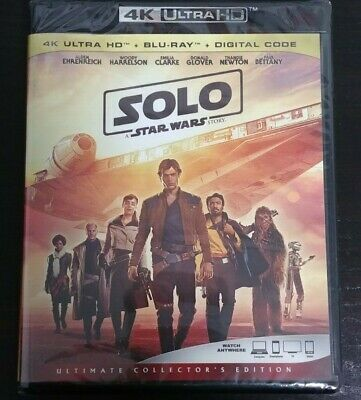 Solo: A Star Wars Story (Bilingual) [4K+Blu-ray] New and Factory Sealed!!