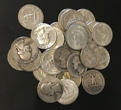 Qty 1 - Silver Washington Quarters *FREE SHIPPING* 90% Silver $0.25 Face Value