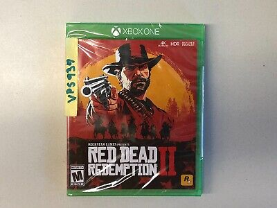 Red Dead Redemption 2 II (Microsoft Xbox One, Xbox 1, 2018) BRAND NEW SEALED!!!!