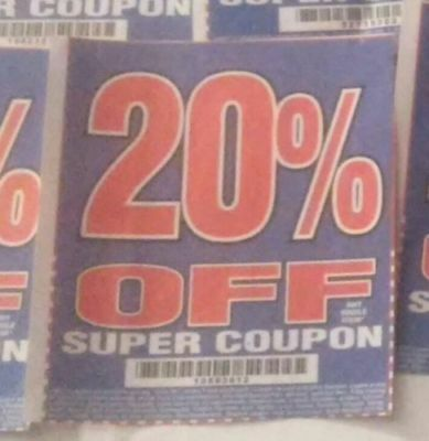 Harbor Freight 20% Off Discount Coupon - Huge Savings! Home Depot Lowe's