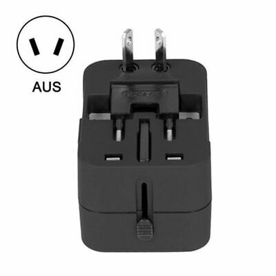 World Wide Universal Travel Adapter Multi Plug Charger With Dual USB 2 PORT AU