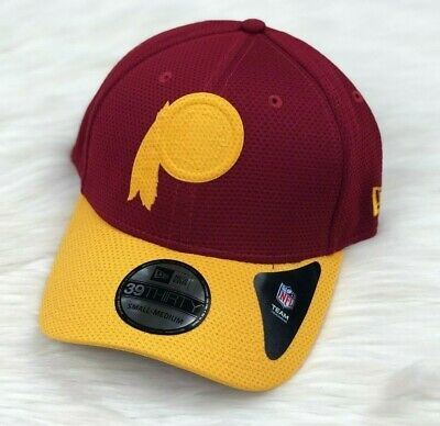 new arrivals 104cf 78cea Washington Redskins New Era NFL Matte Logo 39THIRTY Flex Brim Fitted Hat Cap