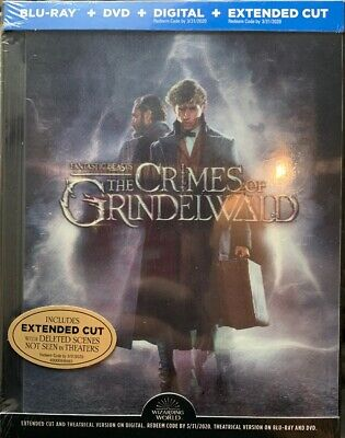 Fantastic Beasts Crimes Of Grindelwald (Blu-Ray+DVD+Digital),Special Edition,NEW