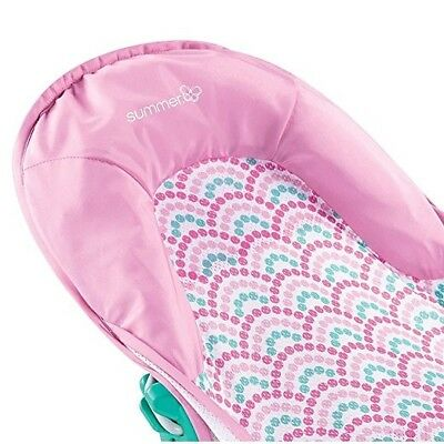 Brand New Summer Infant Deluxe Baby Bather Bath Support Pink