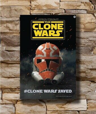 Hot Star Wars The Clone Wars Movie 2019 Season 7 Saved New Poster 24x36 T-4064