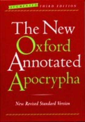 The new Oxford annotated apocrypha by Michael David Coogan (Hardback)