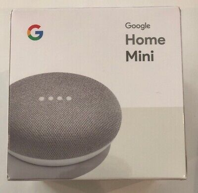 BRAND NEW & SEALED! Google Home Mini Smart Assistant - Chalk