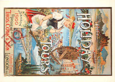 Picture Postcard:;Thomas Cook Holiday Tours (Repro)