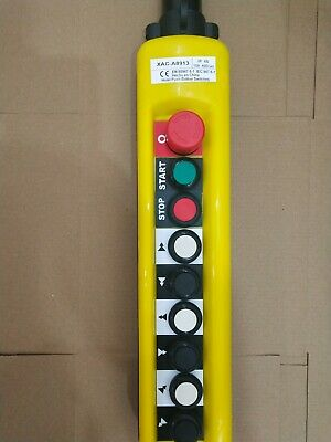 1PC New XAC-A8913 Pendant Control Stations Crane 8 Pushbutton Switch #V4274 CH