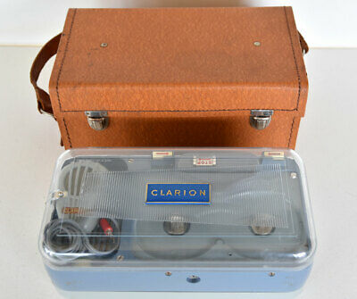 Vintage CLARION Reel to Reel Tape Recorder made in West Germany