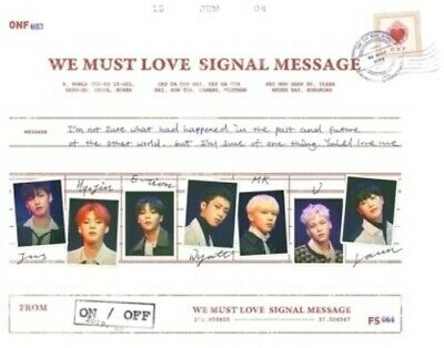 We Must Love - Onf (CD New)