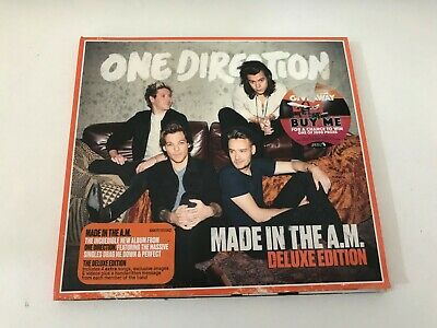 One Direction ‎– Made In The A.M. 0888751555624 AU CD Deluxe Edition, Digipak