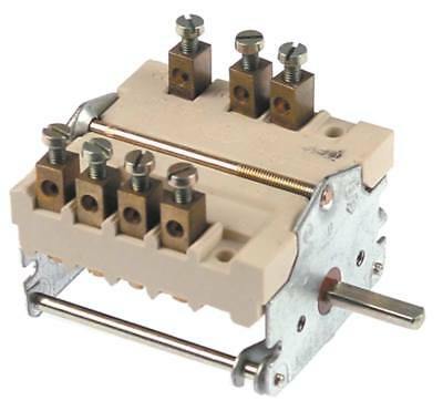 Cam Switches Axle Ø 6x4, 6mm Connection Screw Terminal 3-pin 4-stroke