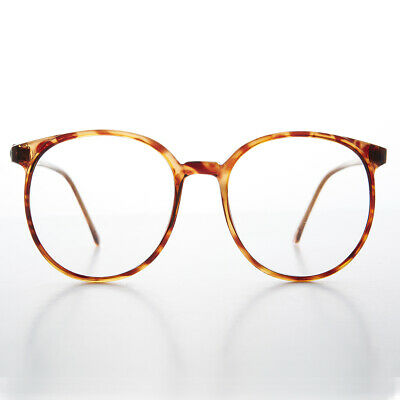 Big 80s Secretary Eyeglasses with Clear Lens - Smarty