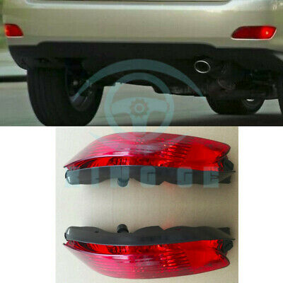 REAR BUMPER LEFT Right Side Lamp Reflector For Lexus RX330 RX350 RX400h  04-09 op
