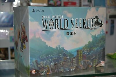 NEW PS4 One Piece World Seeker (HK Limited Collector's Boxset, Chinese)