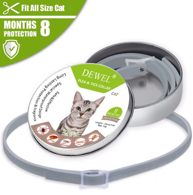 US DEWEL 33CM Seresto Collar CATS Tick And Flea Treatment 8 Months Protection