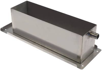 """Housing Cover Width 180mm 3/4 """" Height 145mm Length 510mm Stainless Steel"""