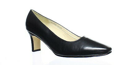 b9a6be83b6 FITZWELL WOMENS VINCENT Black Pumps Size 10.5 (C,D,W) (139585 ...