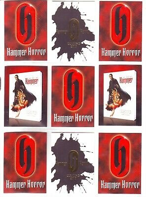 Hammer Horror Series 2 Collection By Strictly Ink 2010