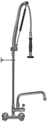 """Geschirrwaschbrause Connection 1/2 """" with U-Outlet with Wall Mixer"""