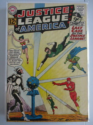 Justice League of America Vol. 1 (1960-1987) #12 VF 1st Doctor Light