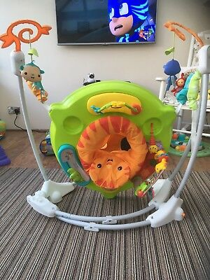 Fisher-price Chm91 Roaring Rainforest Jumperoo, New-born Baby Activity Centre -