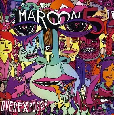 Maroon 5 - Overexposed (Clean) New Cd