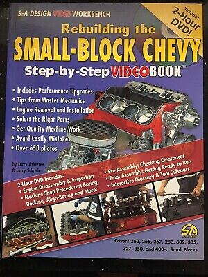 SA116 REBUILDING THE Small Block Chevy Step By Step Video