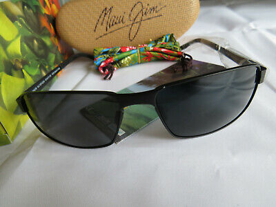 8d62f924bd3 NEW AUTHENTIC POLARIZED MAUI JIM CASTAWAY Sunglasses Grey Lens MJ ...