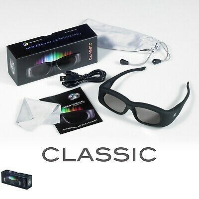 NVIDIA 3D Vision 2 Compatible Rechargeable Active 3D Glasses