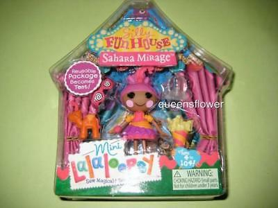 Mini Lalaloopsy Silly Fun House Doll Sahara Mirage #1  of Series 10 NEW