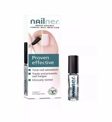2 X New Bottles Of Nailner Fungal Nail Infection With Brush-5ml Bottles