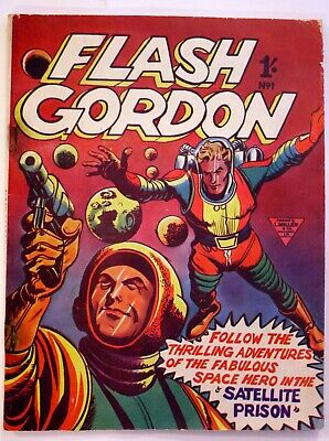 Flash Gordon #1 1960, Silver Age, F Condition. See Images And History