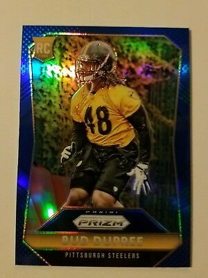 482ee9a9c 2015 Prizm Bud Dupree RC  213 Blue Refractor SP Pittsburgh Steelers Rookie