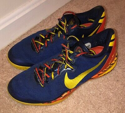 "new products 0421d 03a97 Nike Kobe 8 System ""Barcelona Tiger"" - Men S Sz 9 (555035-402"