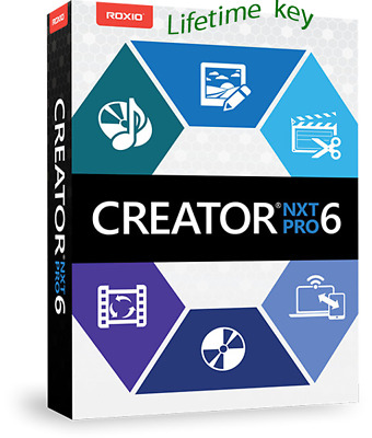 Roxio Creator NXT 6 Pro / Lifetime Key /Digital Download / Instant Delivery (1m)
