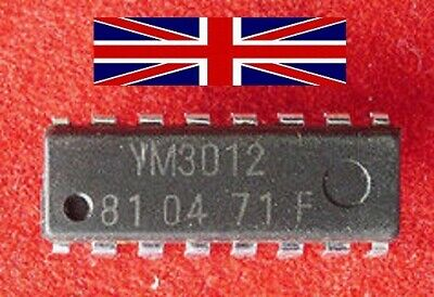 YM3012 DIP16 Integrated Circuit from Yamaha