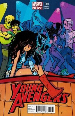 Young Avengers Vol. 2 (2013-2014) #1 (Bryan Lee OMalley Variant)