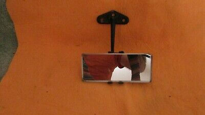 Vintage Eversure  Rearview Mirror Barn Fresh Used Rare RAT ROD HOT ROD Truck