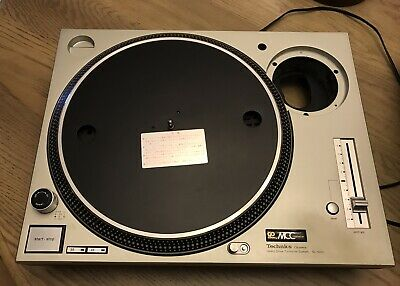 Technics SL-1200 MK3D Turntable without Tonearm SIlver