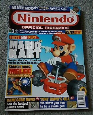 Nintendo Official Magazine Issue 108 - September 2001 Rare & Original