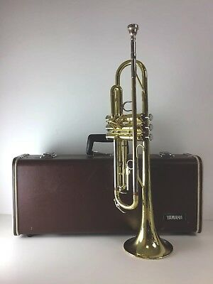YAMAHA Trumpet YTR2320E In Case Brass Instrument In Need Of Refurbishment