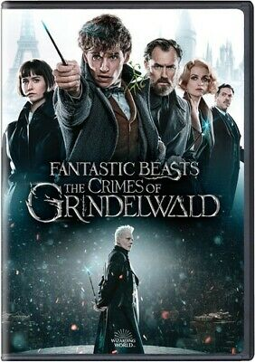 Fantastic Beasts: Crimes Of Grindelwald - 2 DISC SET (DVD New)