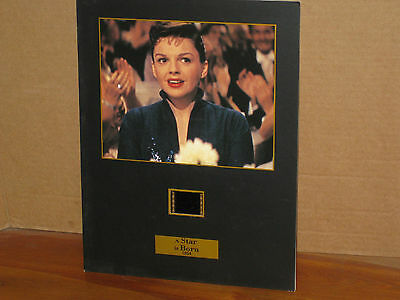 """A STAR IS BORN 1954 JUDY GARLAND SENITYPE FILM CELL & PHOTO, NUMBERED, 81/2x11"""""""