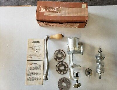 Vintage•Universal No.1551•Food And Meat Chopper/Grinder•Original Box