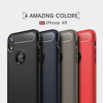 Case For Apple iPhone XR Slim Bumper Silicone Shockproof Protective Cover USA
