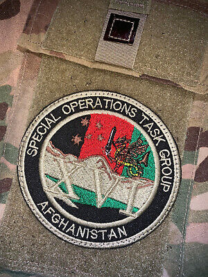 Rotation 16 Patch SOTGR-16 Australia Australian Special Operations Task Group