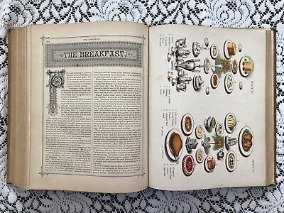 1882 Gaskell's Compendium of Forms Leather Bound Antique Reference Book