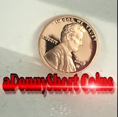 🛑 2019 W Proof Lincoln Cent  In Special Folder First West Point Cent Minted 😍
